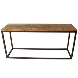 Steel & Elm Console Table