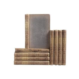 "Antique Pocket-Sized ""Rollo"" Books, S/9"