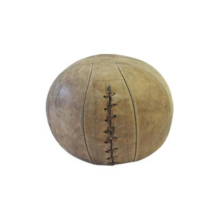 Antique Leather Medicine Ball