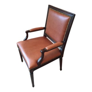 Ralph Lauren Brown Leather Chair