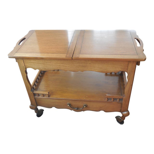 1940s Thomasville Sideboard Cart - Image 1 of 5