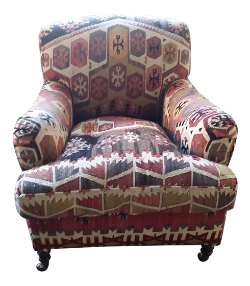 George Smith Kilim Armchair