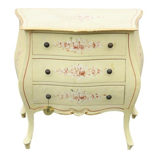 Miniature Paint Decorated Bombe Commode