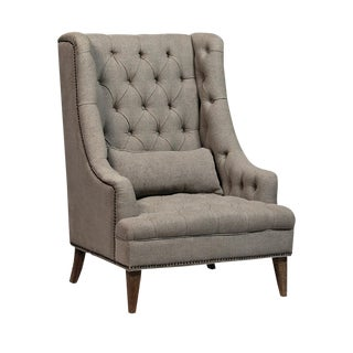 Tall Tufted Arm Chair