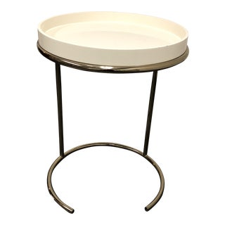 Eileen Grey Style Chrome Tray Table