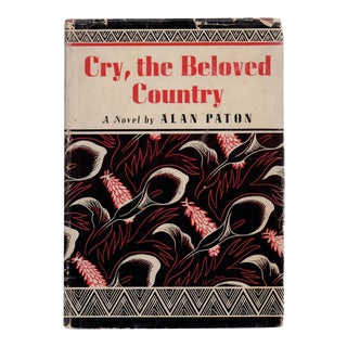 """""""Cry, the Beloved Country"""" Book by Alan Paton"""