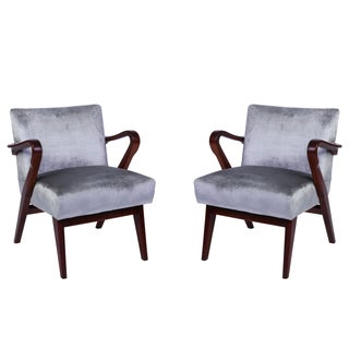 Vintage Amp Used Brown Accent Chairs Chairish