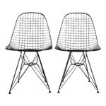 Eames DKR Wire Chairs - A Pair