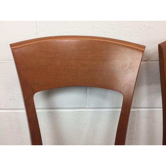 A. Sibau Italian Mid-Century Modern Dining Chairs- Set of 6 - Image 8 of 11