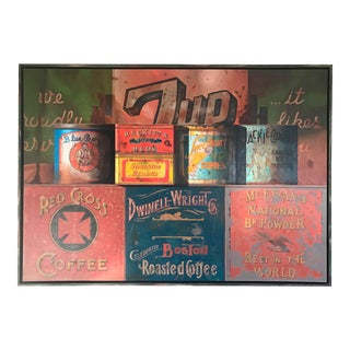 """7-Up"" Original Painting by Manuel Huges"