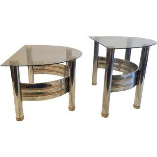 Romeo Rega Demilune Nesting Tables - A Pair
