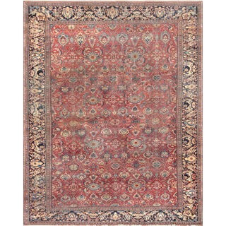 Antique Ferehan Area Rug - 10′6″ × 13′3″