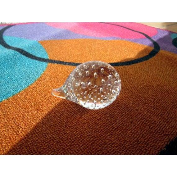 Image of Swedish Glass Beastie Critter Paperweight
