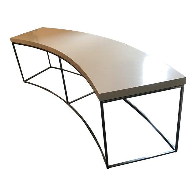 Milo Baughman Curved Sofa Table Chairish