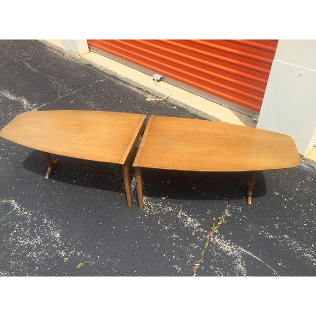 Mid-Century Drexel 2-Piece Coffee Table - Image 2 of 8
