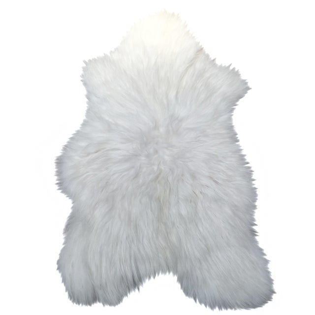 Icelandic Sheepskin Throw - 2′8″ × 4′4″ - Image 1 of 4