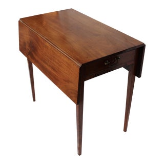 Antique Solid Mahogany Pembroke Table