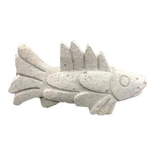 Concrete Fish Sculpture