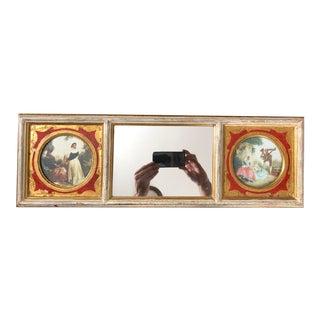 Vintage Three Panel Florentine Mirror