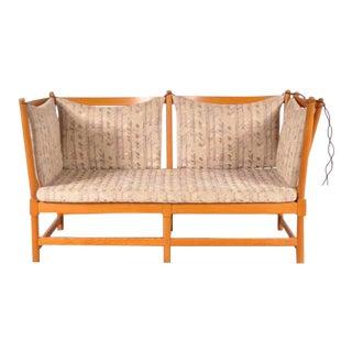Spokeback Sofa by Børge Mogensen for Fritz Hansen, Denmark, 1963