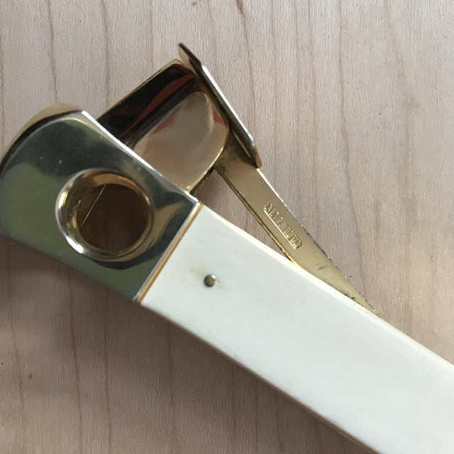 Vintage Brass Cigar Cutter - Image 5 of 8