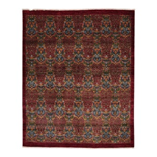 """Suzani Hand Knotted Area Rug - 8'1"""" X 9'9"""""""