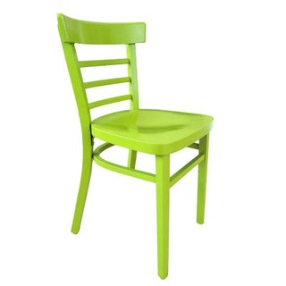 Vintage Cafe Chair in Green