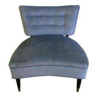Vintage Klismos Style Accent Chair