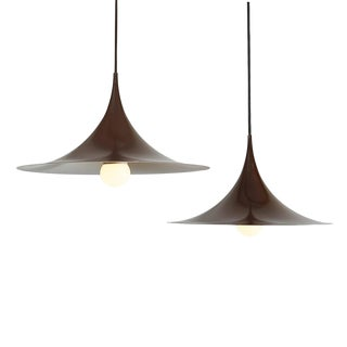 Semi Pendant Lamps by Claus Bonderup & Thorsten Thorup, Pair