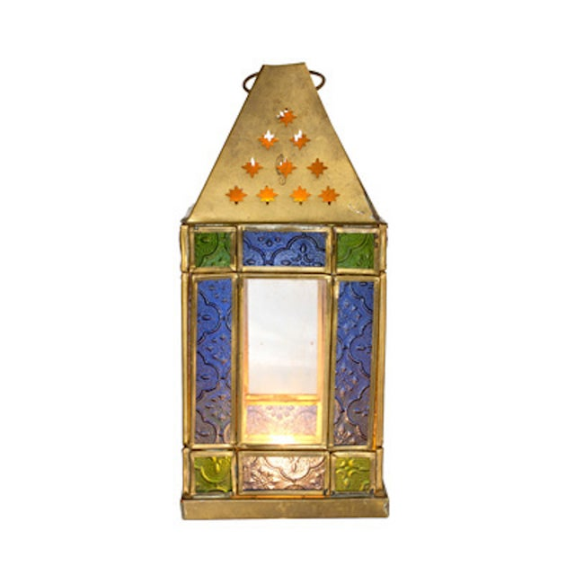 Stained Glass Lantern - Image 2 of 2