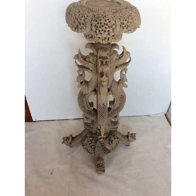 Vintage Anglo Indian Pedestal - Image 3 of 9