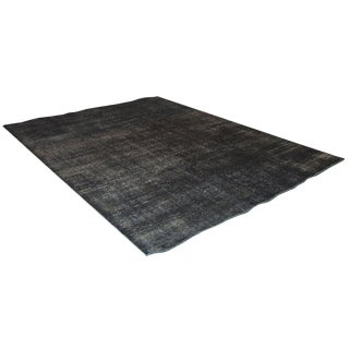 Sarreid Ltd Dark Fray Wool Carpet - 8' X 10'