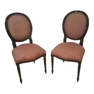 Vintage Weiman Parlor Chairs - A Pair