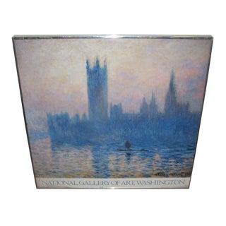 National Gallery of Art Vintage Exhibit Monet Poster