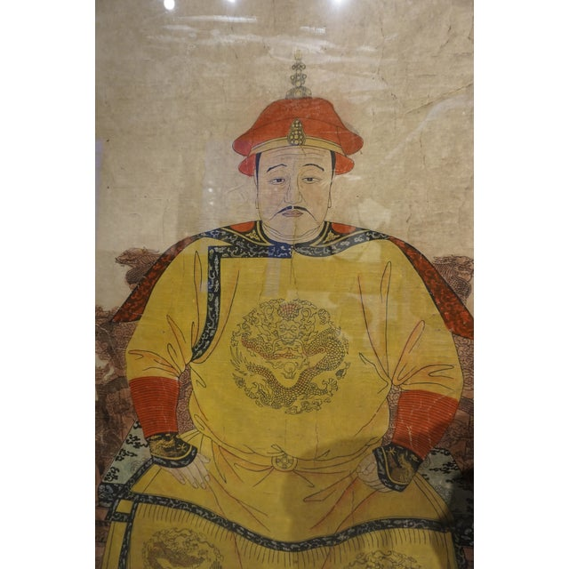 Chinese Ancestor Portrait Painting - Image 3 of 5