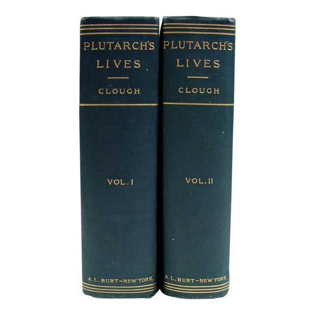 1900 Plutarch's Lives Books- A Pair - Image 1 of 5