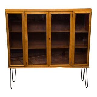 John Widdicomb Display Cabinet on Hairpin Legs