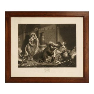 C.1830 English Etching Artist Proof