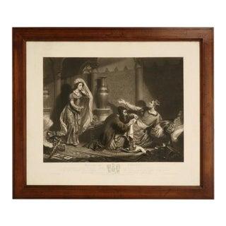 C.1830 English Etching Artist Proof