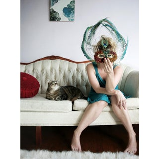Peacock Mask Limited Edition Print