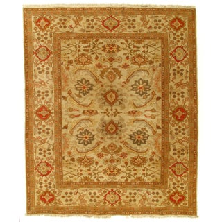 Indian Agra Rug - 8′ × 10′