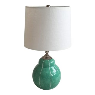 Small Handmade Ceramic Table Lamp