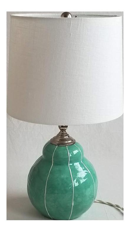 Small Handmade Ceramic Table Lamp