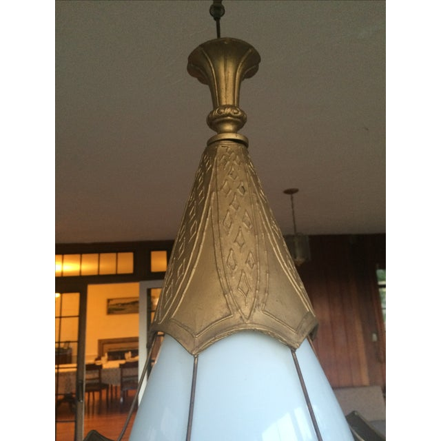 Mid Century Pendant Lamps - Pair - Image 11 of 11