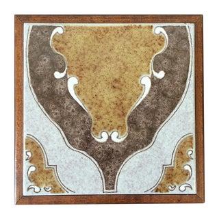 Mid Century Ceramic Trivet