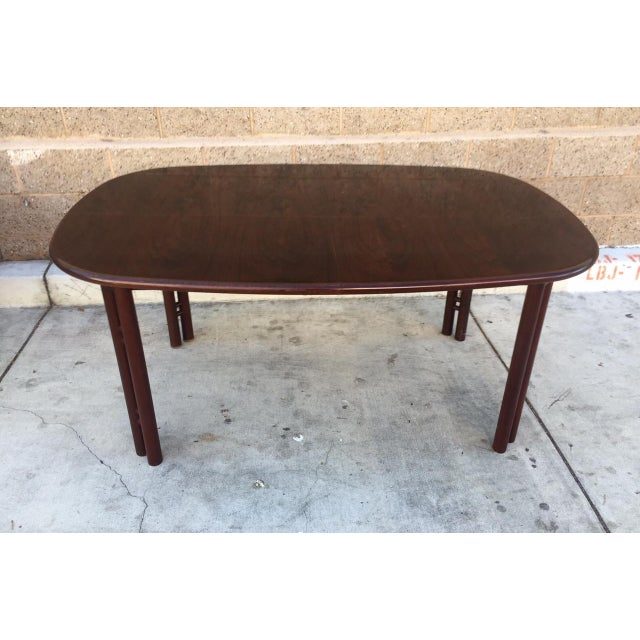 Mid-Century Rosewood Dining Table - Image 3 of 3