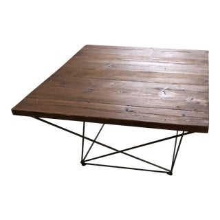 West Elm Reclaimed Wood Coffee Table