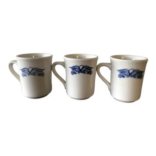 American Eagle Restaurant Ware Mugs - Set of 3