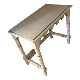 Vintage French Provincial Transitional Wood Table