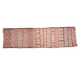 """Vintage Embroidered Moroccan Runner - 2'8"""" X 9'6"""""""